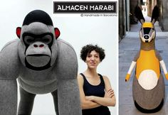 Amazing sculptures toys for kids by Mariela Marabi
