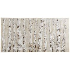 Our simple, yet striking, hand-painted depiction of birch trees could be just the piece you're looking for to complete your living room or den. The natural elegance of the slender birches and the neutral palette give it the versatility to accent contemporary as well as traditional decor.