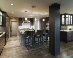 Kitchens With Dark Hardwood Floors Design, Pictures, Remodel, Decor and Ideas - page 18