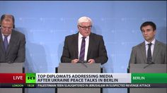 Kiev govt, Russia, Germany, France agree E. Ukraine ceasefire