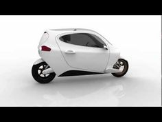 Gyroscopically Stabilized Electric Motorcycle - and it's pretty sweet. [Video]