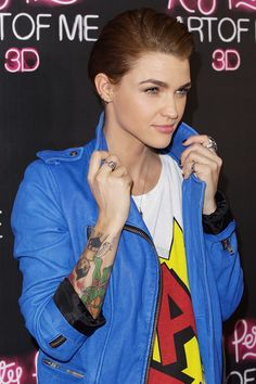 "Ruby Rose Photos - ""Katy Perry: Part Of Me"" Australian Premiere - Zimbio"