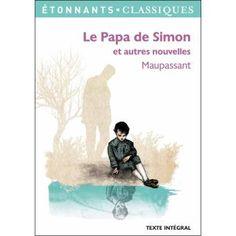"""Le monde de l'enfance présenté dans sa cruauté : """"Simon n'a pas de papa"""", tel est le refrain que le petit garçon subit aux récréations... jusqu'au jour où le brave Philippe prend le garçon sous son aile... Maupassant ou l'art des portraits saisissants."""
