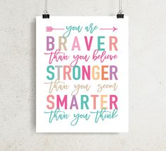 Purple teal pink Pooh quotes Printable Art You are braver than you believe, Teen or toddler girl room decor Inspirational kids digital print Girl Bathroom Decor, Girls Room Wall Decor, Teen Wall Decor, Teen Wall Art, Little Girl Bathrooms, Little Girl Rooms, Quotes For Little Girls, Turquoise Rose, Purple Teal