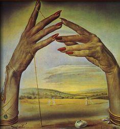 Salvador Dali. Portrait d'une Femme Pass.