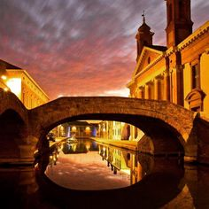 "Comacchio, la ""Piccola Venezia"" - Instagram by vignasulmar"