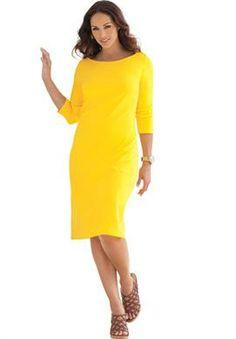 Classic Boatneck Dress | Plus Size Casual Dresses | Jessica London