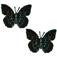 Expo MBP102BK Iron-On Embroidered Sequin Butterfly Applique, 2-Pack, Black Expo http://www.amazon.com/dp/B003VSKH74/ref=cm_sw_r_pi_dp_Mw94tb1HREWQX