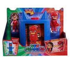 With the push of a button, little ones can watch Amaya turn into the nighttime hero Owlette from the hit show PJ Masks ! Play Ice Cream, Zuma Paw Patrol, Cute Baby Twins, Toddler Christmas Gifts, Christmas Presents, Lunch Box Set, Toddler Girl Gifts, Diy Barbie Clothes, Beautiful Home Designs