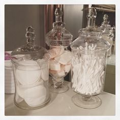 Jar Storage, Organization, Bathroom, Diy, Inspiration, Home Decor, Decoration Home, Bedroom, Home
