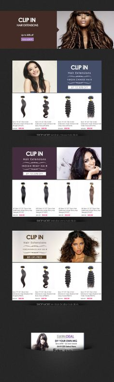 HSM HAIR BOUTIQUE   PROMOTIONS > Clip in hair extensions up to 30% off http://www.hairshoppingmall.com/clip-in-hair-extensions-deals/