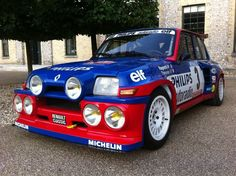 Renault 5 Turbo, Renault Sport, Gt Turbo, Turbo Car, Dream Cars, Vintage Race Car, Top Cars, Rally Car, Fast Cars