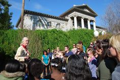The University of Redlands prides itself on the impressive speakers who come to campus each year. In 2011, renowned primatologist, conservationist and U.N. Messenger of Peace Jane Goodall was one of those guests, who not only presented a lecture in the Memorial Chapel, but also met with local students in the LaFourcade Garden.