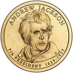 7th President Andrew Jackson - United States President Coins (2008)