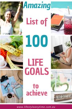 Keeping a dream list, bucket list, life goals list of things to achieve during your life time is inspiring. There are 100 life goal ideas on this list to inspire and motivate. Review the life goals list as you write your future goals. To assist with aligning your goals and values there is a bonus core values list included. #lifegoalslist #bucketlist #dreamlist