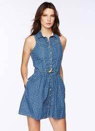 Resultado de imagen para vestidos blue jean