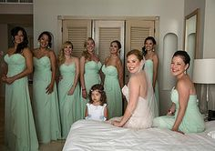 Bridal Party photo fav...we Luv the color of these Dresses!!! Gorgeous Bridesmaids! Stunning bride! MTM Photography in Mayan Riviera Wedding Photographer. Wedding Photographer photos in Cancun, Playa del Carmen, Puerto Morelos, Puerto Aventuras and Tulum. www.MomentsThatMatterPhotography.com