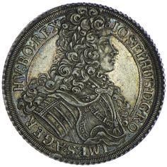 Josef I. 1705 - 1711 Taler 1706 Wien Silber