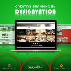 Web designs by DesignVation. Visit us: http://www.designvation.com/ #webdesigns #website #Branding #Creativity #DesignVation