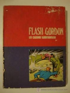 FLASH GORDON TOMO Nº 4 LA CIUDAD SUBMARINA EDICIONES BURULAN