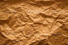 Crumpled paper texture ... backdrop, background, blank, brown, crumpled, crumpled paper, design, empty, grunge, old, page, paper, paper background, paper texture, recycled paper, recycling, retro, rough, texture, textured, vintage