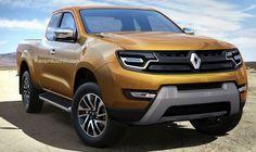 Picapes Mercedes e Renault ganham esboços - carros - Jornal do Carro