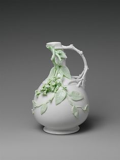 Ewer, Knowles, Taylor and Knowles (1870-1929), ca. 1891-97, Ohio/USA, Porcelain, Collection of the MET NY