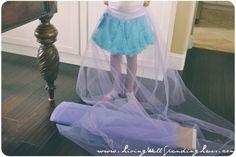 No-Sew Super Full Tulle Skirt {DiY} | How to Make a Very Full Tutu