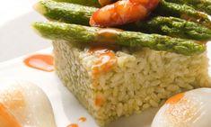 arroz verde con langostinos de karlos arguiñano