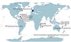 France : collectivités d'Outre-Mer