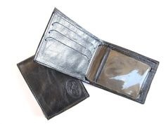 Men's Leather Wallet  Small Sized  in JOE'S by AmielLeatherDesign, $45.00