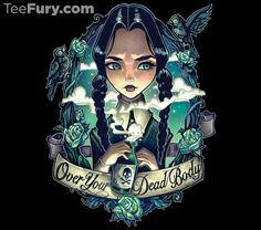 http://www.teefury.com/over-your-dead-body