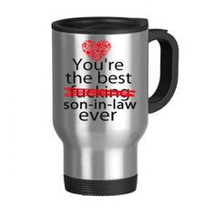 Son In Law Gifts Best 400ml Clic Coffee Cup Stainless Steel Travel Mug With Handle