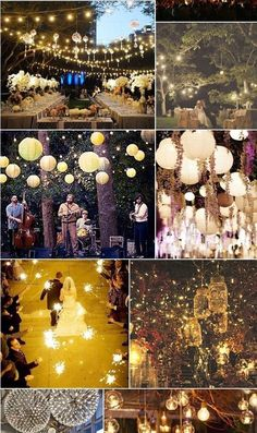 lucine e lanterne