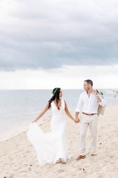 Glamorous Beach Wedding in Mauritius