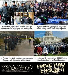 """Obama's version of """"freedom of religion"""". Wake up, people."""