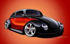 Volkswagen Beetle Custom by dazza-mate on DeviantArt BG