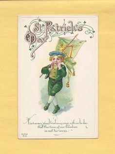 """Почтовая открытка """"День Святого Патрика"""" (Post card - St.Patrick's Day)"""