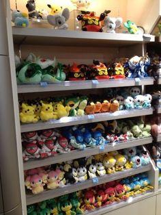 Pokemon Photos from Tokyo - Samurott Serperior Emboar Pikachu Oshawott Snivy Tepig plush dolls