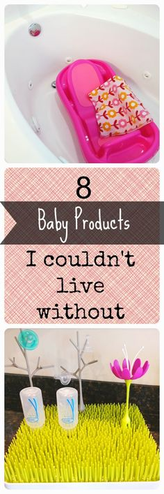 8 Baby Products I Couldn't Live Without | + Best Kept Secret to helping your baby love their bath!