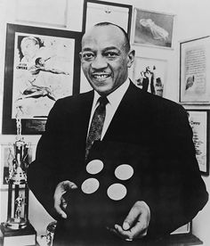 Jesse Owens August 3,1936: Jesse Owens won the 100 meter dash, defeating Ralph Metcalfe, at the Berlin Olympics.