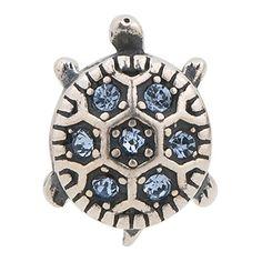 Turtle Purple Authentic 925 Sterling Silver Core Bead Animals e2862ae150