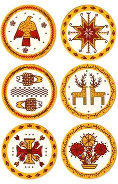 Ukrainian coasters