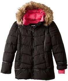 Steve Madden Big Girls Down Alternative Hooded Winter Puffer Bubble Jacket Coat  http://www.yearofstyle.com/steve-madden-big-girls-down-alternative-hooded-winter-puffer-bubble-jacket-coat-2/