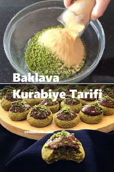 Easy Cookie Recipes, Easy Desserts, Dessert Recipes, Baklava Cookies Recipe, Cheesecake Brownies, Seafood Recipes, Nutella, Buffet, Deserts