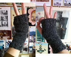 super simple fingerless gloves pattern