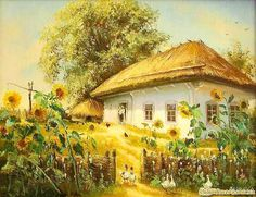 Old village house , from Iryna
