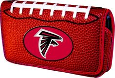 Atlanta Falcons Universal Personal Electronics Case  https://allstarsportsfan.com/product/atlanta-falcons-universal-personal-electronics-case/  Fits a variety of personal electronic devices: PDAs, iPod, digital cameras, and more! Made from football laces and authentic football leather Universal Smart Phone Case – Fits most PDA cell phones
