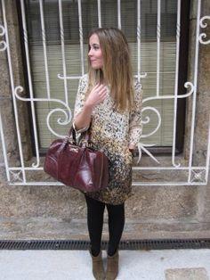 sweetcherry Outfit  casual  Primavera 2012. Combinar Bolso Rojo Granate bimba
