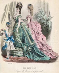 jailagracedunearchiduchesse:  Fashions of 1875